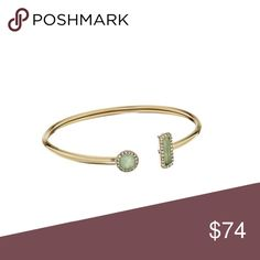 • MK Urban Rush Flex Cuff • The Urban Rush Flexi Cuff Bracelet is a sensational piece to add to your collection. ; Features a round and rectangle crystal accent. ; Rose gold-tone finish. ; Slip on. ; Imported. Measurements: ; Width: 1 2 in ; Diameter/Length: 2 in ; Weight: 0.2 oz Michael Kors Jewelry Bracelets