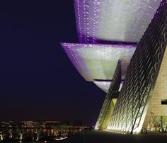 The continuous development of cultural spaces across China has given rise to iconic landmarks in the country. This includes Wuxi Grand Theatre. Wuxi, Southeast Asia, Marina Bay Sands, Finland, Theatre, Glow, Country, Building, Construction