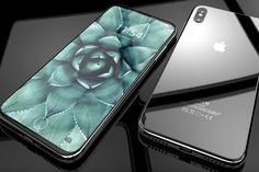 Apple next generation model will be iPhone 8 and iPhone 8 Plus. Let's we look iPhone 8 Leaks and it will be coming with wireless charging or not? Iphone Phone, Coque Iphone, New Iphone, Ipod, Iphone Leak, Latest Iphone, Phone Cases, Keynote Apple, Iphone 8 Concept