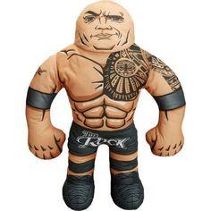 WWE Wrestling Buddy, The Rock, Brown
