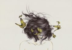 illustration by peony yip- Dance of the Butterflies