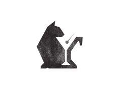 """Série """"Logos com uso de espaço negativo"""". Cool!"""