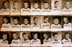 1963 Peugeot Cycling Team