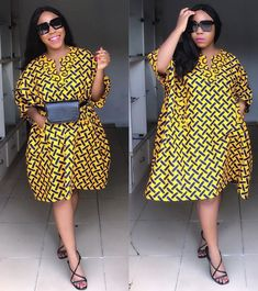 Gorgeous And Stunning Ankara Styles For Adorable/Fabulous Ladies Best African Dresses, African Print Dresses, African Print Fashion, African Attire, African Wear, African Fashion Dresses, African Style, Ankara Short Gown Styles, Short Gowns