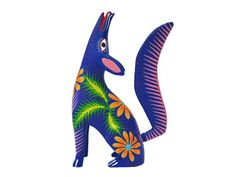 Ever since I saw the Disney Pixar Movie Coco I have been wanting to do some kind of art lesson on Alebrijes. Day Of The Dead Artwork, Watercolor Projects, Art Lessons Elementary, Expositions, Mexican Folk Art, Watercolor Animals, Dot Painting, Art Boards, Art Projects