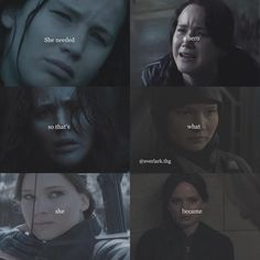 Katniss was always a hero she just became a stronger hero