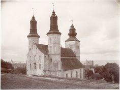 Gotland, Gotland, Visby, Gotland, Byggnader-Religionsutövning - kyrkor-(01) Exteriörer