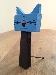 for inspiration: designed by Toru Fukuda Handmade Wooden Toys, Wooden Diy, Diy For Kids, Crafts For Kids, Arts And Crafts, Woodworking Projects For Kids, Wood Projects, Summer Camp Art, Rainy Day Crafts