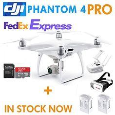 DJI Phantom 4 Pro,RC Camera Drone QuadCopter ,1 Extra Battery ,64G sd Card ,3D VR Card(DJI Phantom 4 PRO Gift packages) Reviews