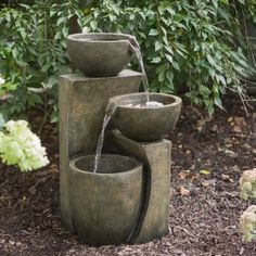 Kenroy Leaves Indoor/Outdoor Floor Fountain - Additional featuresNo plumbing requiredWater circulates via included pumpOne of the great things about the Leaves Indoor/Outdoor Floor Fountain is tha...