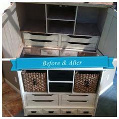 The Baeza Blog: Trash to Entry Table