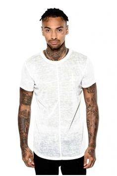 Judas Sinned - Space Dye Crew T-Shirt - White | Turn to Judas Sinned for distinctive designs in premium interest fabrics. Shop the full collection now @ Urban Celebrity!
