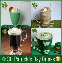 Fun and tasty drinks to make for St. Patrick's Day