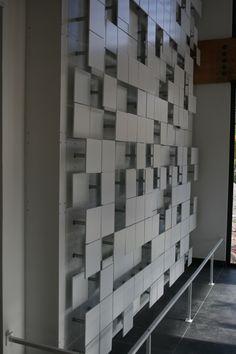 LAb[au]'s m0za1que a kinetic light art installation - designboom | architecture & design magazine