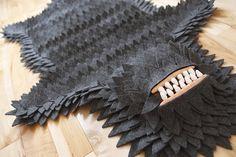 Joshua Ben Longo Monster Skin Rug