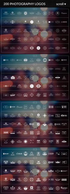 600 Logos & Badges SALE #design Download: https://creativemarket.com/PiotrLapa/233294-600-Logos-Badges-SALE?u=ksioks