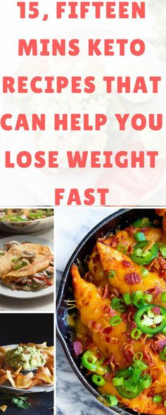 15 Fifteen Mins Keto Recipes That Can Help You Lose Weight Fast Keto Foods, Ketogenic Recipes, Low Carb Recipes, Healthy Recipes, Ketogenic Diet, Ketogenic Lifestyle, Gourmet Recipes, Yummy Recipes, Bariatric Recipes