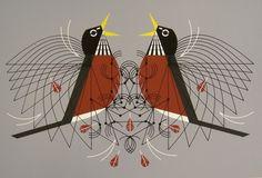 Charley Harper - Round Robin