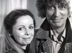Tom Baker and Lalla Ward on their wedding day in 1980