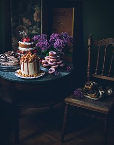 "Dessert table from my book ""Sweet food & photography"""