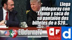 Llega Videgaray con Trump y saca de su pantalón dos billetes de a $20