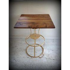 イギリスアンティーク家具インダストリアルアイアンテーブル/パブテーブル/カフェテーブル