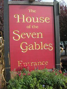 The house of Seven Gables, Salem Massachusetts