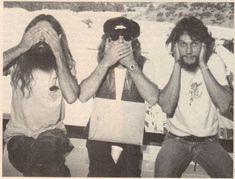Artimus Pyle, Leon Wilkeson and Steve Gaines. Photo: Jeffrey Mayer(Circus, November 10, 1977)