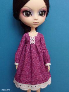 Dress for Pullip doll por Kosucas en Etsy