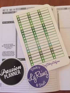 60 Coffee sticker strips to fit the Weekly layout section in the Compact Size Passion Planner, or anywhere else you would like to use them.