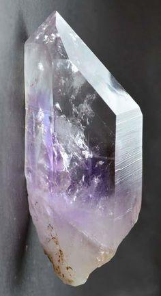 Brandberg Quartz Amethyst Flame Enhydro
