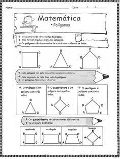 Matemática - polígonos 1