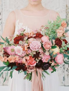 Photography: Danielle Coons Photography - undefined Floral Design: Florosophy - undefined Wedding Dress: Watters - undefined   Read More on SMP: /2017/05/18/scranton-bridal-shoot/