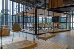 Image 8 of 16 from gallery of ALP Logistic Office / JC Architecture. Photograph by Zach Hone