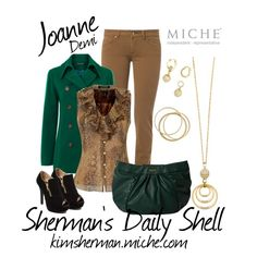 MICHE Joanne Demi, created by kimsherman on Polyvore