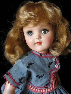 SHE'S BIG~SHE'S BEAUTIFUL~SHE'S QUITE RARE~1950's IDEAL TONI DOLL~P93