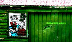 Popeye and old tin roof #dailyshoot Adelaide / leshaines123@flickr | #nosolotecnicabupm