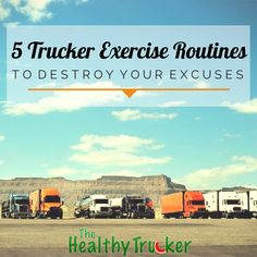 5 Exercise Routines for Truck Drivers -- on the blog!