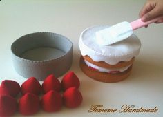 Etsy Pretend felt food  Play food    How to make by TomomoHandmade