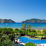 Another view of the Costa Rica Los Suenos Marriott Ocean & Golf Resort - 2013?? Fabulous pool!