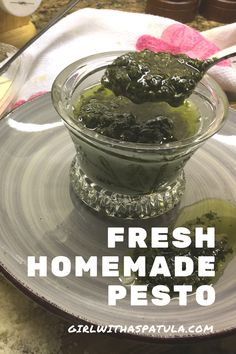 This fresh homemade Basil Pesto sauce is like a little taste of heaven. You wouldn't think that it's so simple and easy to make, but it is. Make this basil pesto sauce once and I'll guarantee that you will be making this over and over again to put over pasta or fresh vegetables. #foodie #italianfood #pasta #food #foodporn #バジル #vegan #veganfood #whatveganseat #healthyfood #govegan #glutenfree #healthy #veganlife #veganrecipes #dairyfree #health #healthylifestyle #cleaneating #nutrition Dip Recipes, Vegan Recipes, Pasta Box, Basil Pesto Sauce, Mini Blender, Homemade Pesto, Fresh Vegetables, Vegan Life, Vegetable Dishes