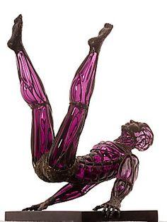 david bennett art glass   david bennett's glass sculptures: liquid motion