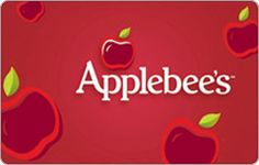 Gift Card Mall (up to 1% cash back) - Applebee's: $15 - $500
