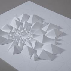 Tessellation Formation 3 by Matthew Shlian