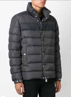 Soldes Moncler Doudoune BREVAL veste mode homme col grey avec flocage