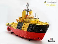 Tyr Viking (LEGO sistervessel of the FAIRPLAY-33) by Konajra, via Flickr