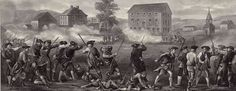 The battle at Lexington and Concord was the first battle of the American Revolution. British were headed to take Colonists weapons, and were interrupted by angry militia. The Militia win and surprise the British in the war ahead.