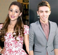 New Couple Alert! Ariana Grande Dating The Wanted's Nathan Sykes ...