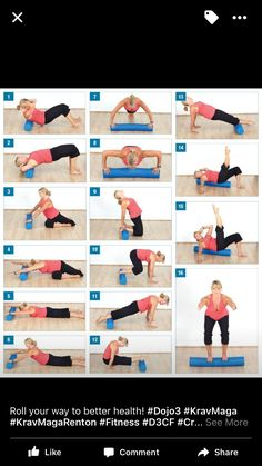 Foam Roller body blast – this looks like a great home workout….I bought the ro… Foam Roller body blast – Pilates Training, Pilates Workout, Pilates Reformer, Pilates Foam Roller, Foam Roller Stretches, Rolo Pilates, Workout Challenge, Form Roller, Women Health
