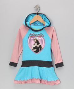 Add a cozy hood and a vivid wild-child graphic to a sweet ruffle dress silhouette and you have this recess-ready sensation. It's made from a super-comfy, breathable cotton blend so staying cool while the jams heat up is no sweat.50% cotton / 50% polyesterMachine washMade in the USA